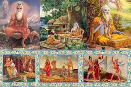 বশিষ্ঠ, ভরদ্বাজ, জমদগ্নি, গৌতম, অত্রি, কশ্যপ ও বিশ্বামিত্র