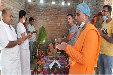 ঝিনাইদহে ইস্কন মন্দির