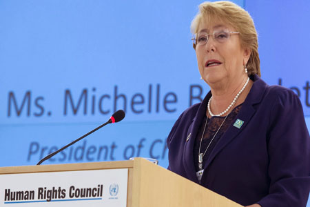 Human Rights Michelle Bachelet