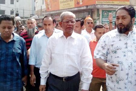 জাতীয় প্রেসক্লাবে মির্জা ফকরুল