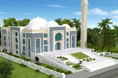 মডেল মসজিদ নির্মাণ