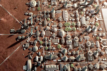 ১০ লাখ মানুষের বসবাসের জন্য মঙ্গল গ্রহে শহর তৈরির মহাপরিকল্পনা