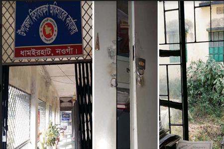 ব্যাংকসহ ধামইরহাটে ৭টি সরকারী অফিসে দুর্ধর্ষ চুরি