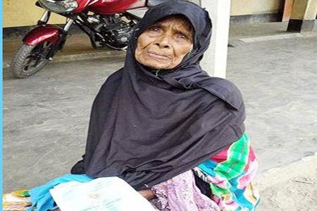 ভুরুঙ্গামারী উপজেলায় বিধবা ভাতার টাকা ছিনতাই