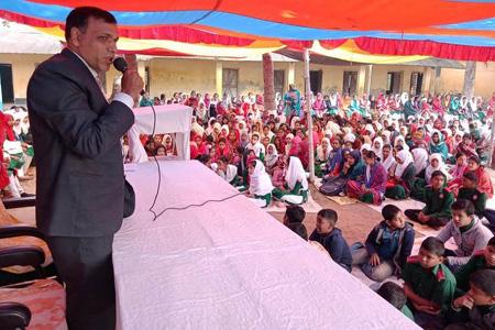 ঝিনাইদহ কালীগঞ্জ কোলা হাইস্কুলে সিরাতুন্নবী (সঃ) পালিত
