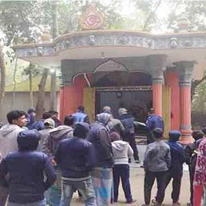 নবাবগঞ্জে আবারো ২টি মন্দিরে ভাংচুর ও চুরি