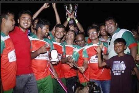 কালীগঞ্জ প্রেসক্লাব চ্যাম্পিয়ন