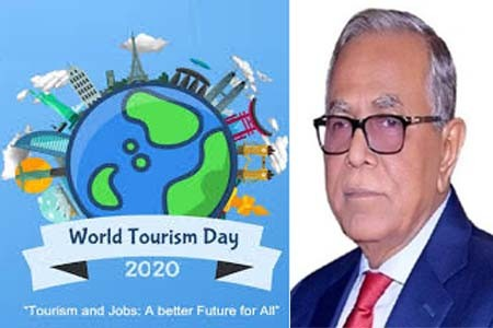 President's message on the World Tourism Day